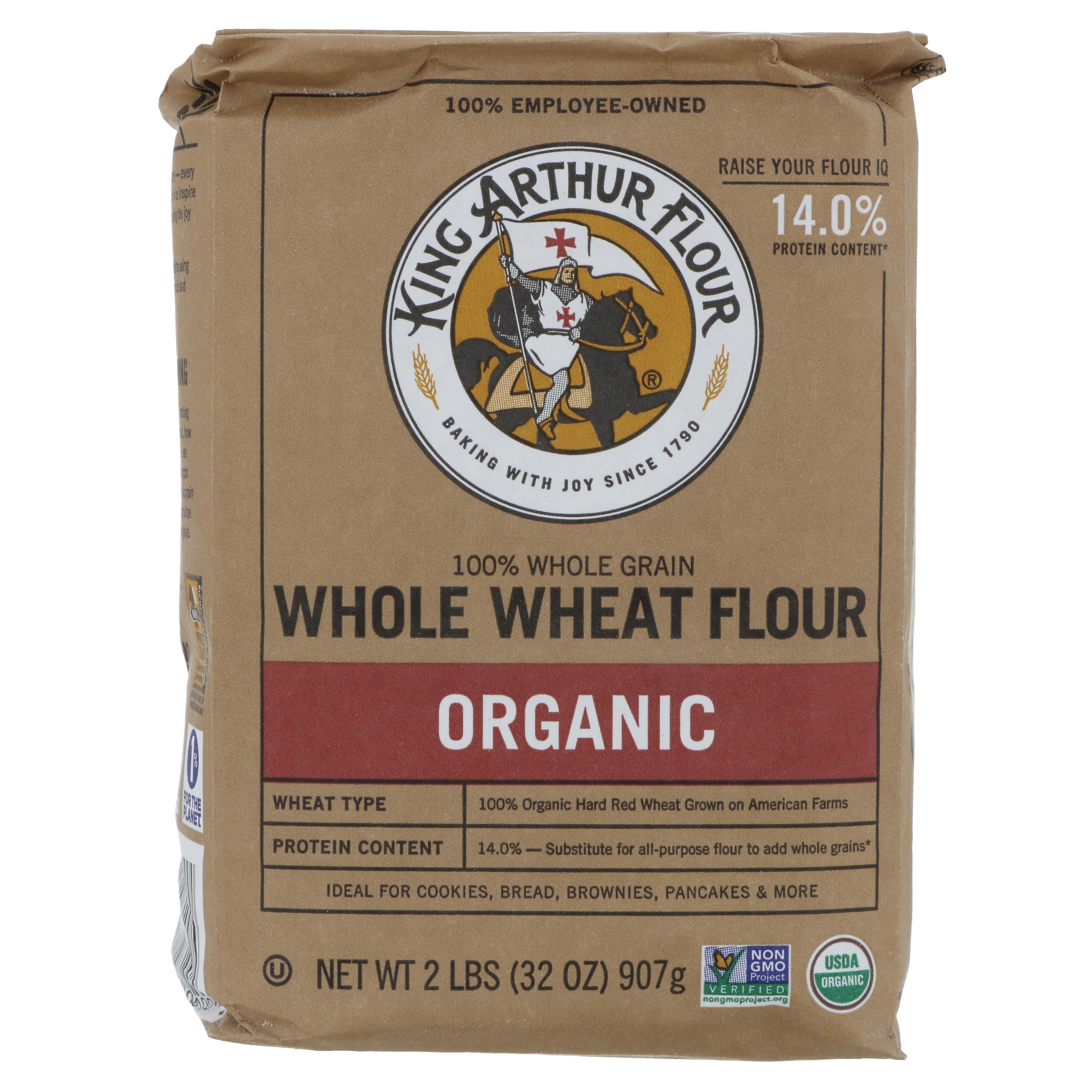 King Arthur Unbleached Organic Whole