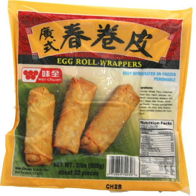 Wei Chuan Egg Roll Wrappers Shop Specialty Asian At H E B