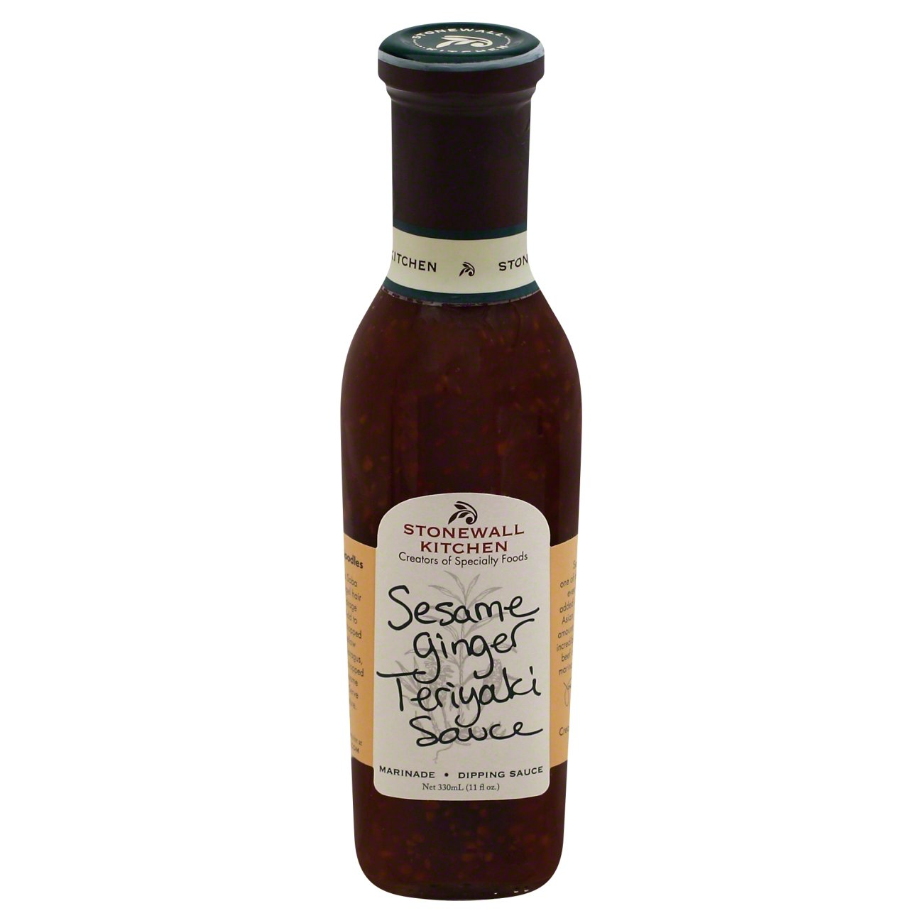 Stonewall Kitchen Sesame Ginger Teriyaki Sauce - Shop Marinades and ...