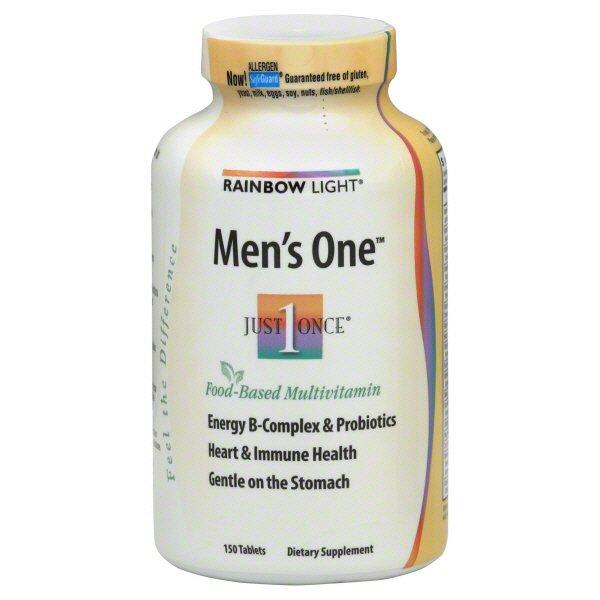 Rainbow Light Just Once Men's One Food‑Based Multivitamin