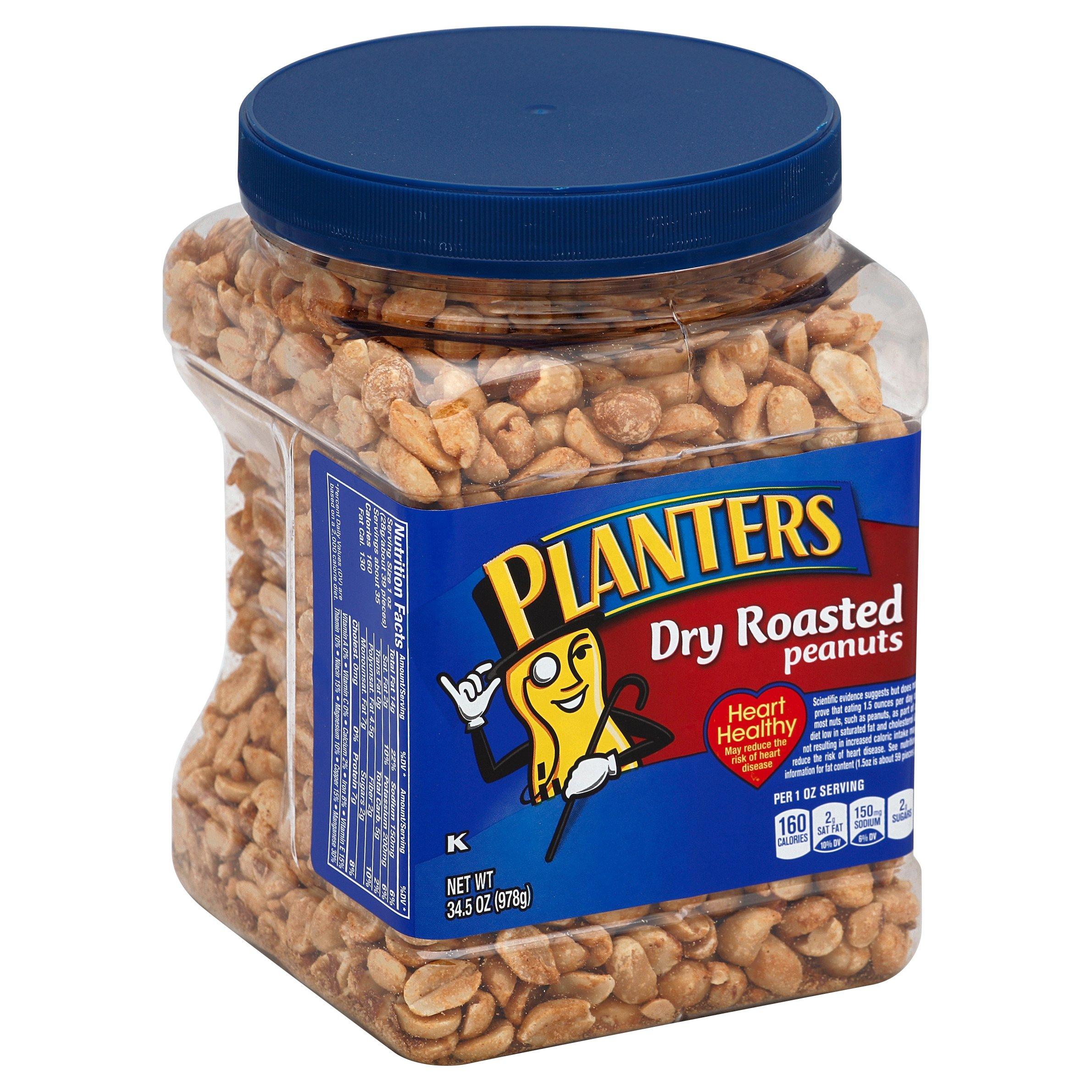Planters Dry Roasted Peanuts - Shop