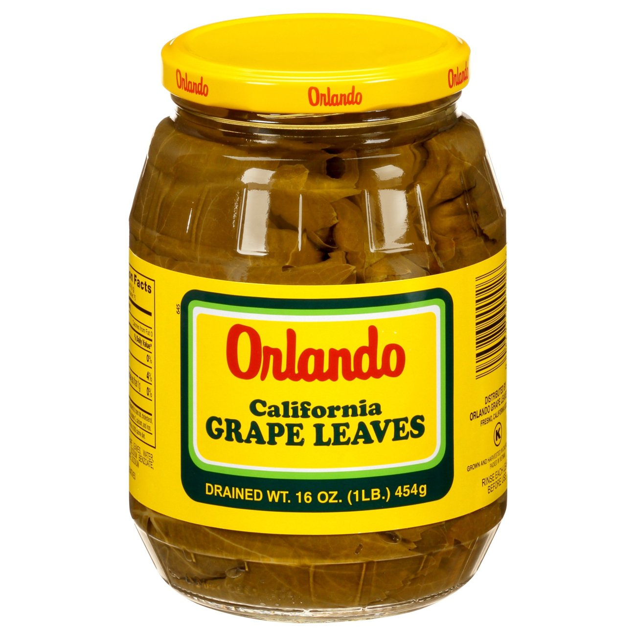 Orlando California Grape Leaves Shop Pantry Meals At H E B