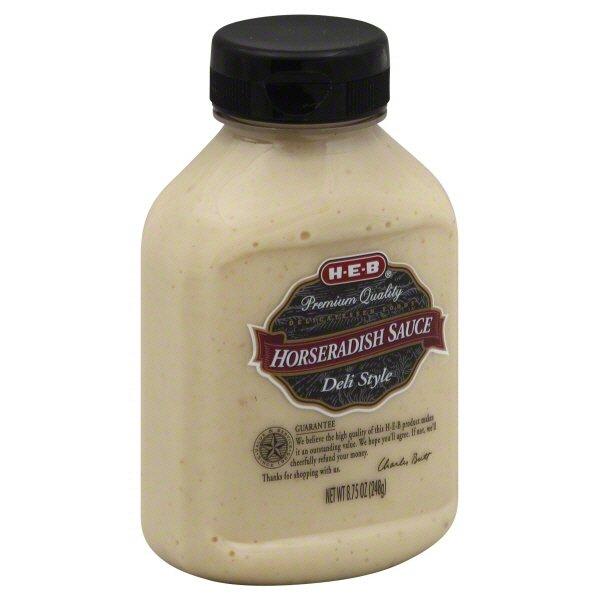 H E B Horseradish Sauce Deli Style Shop Horseradish Wasabi At H E B