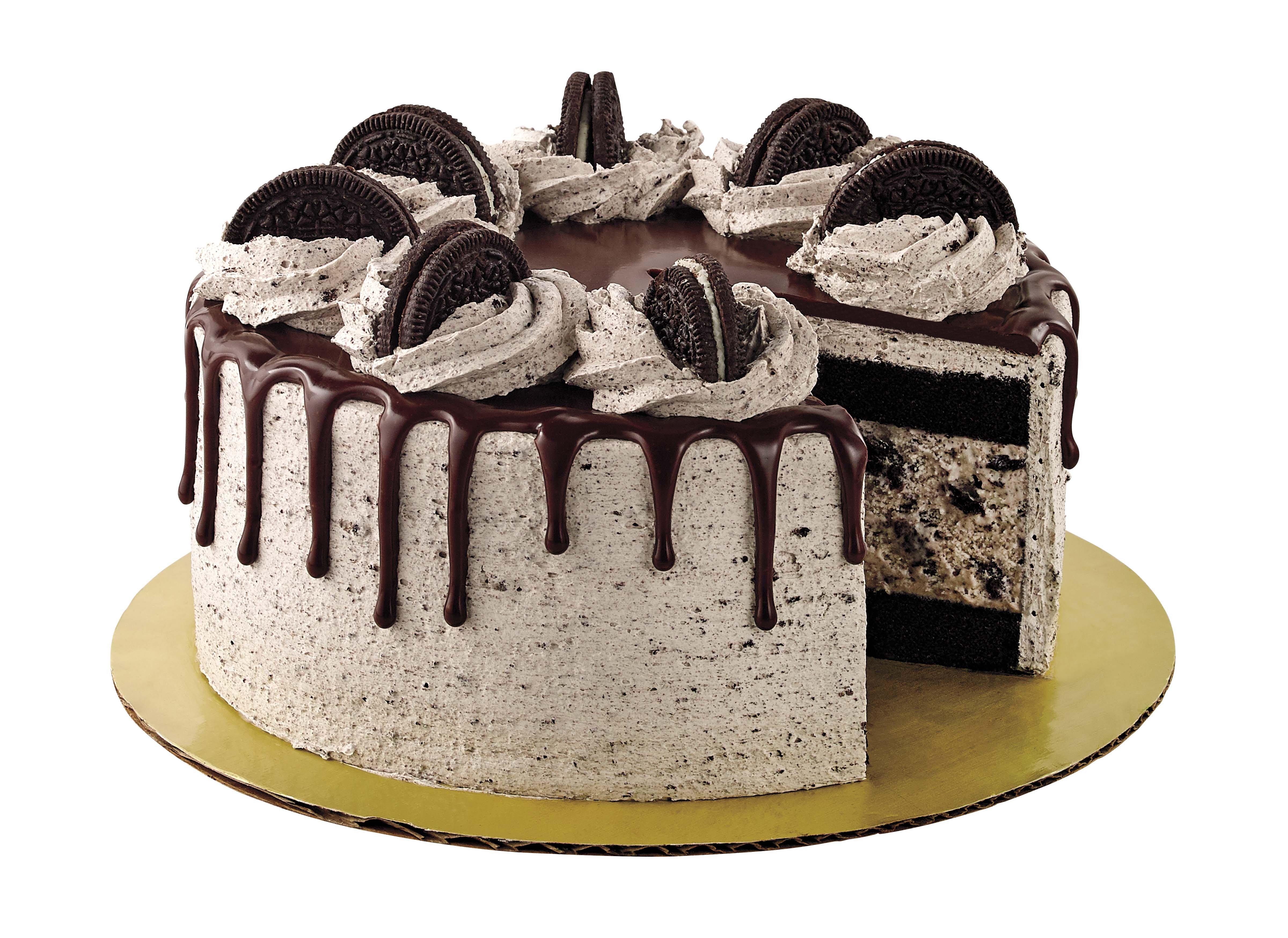 Groovy Heb Select Ingredients Cookies Cream Ice Cream Cake With Funny Birthday Cards Online Hendilapandamsfinfo