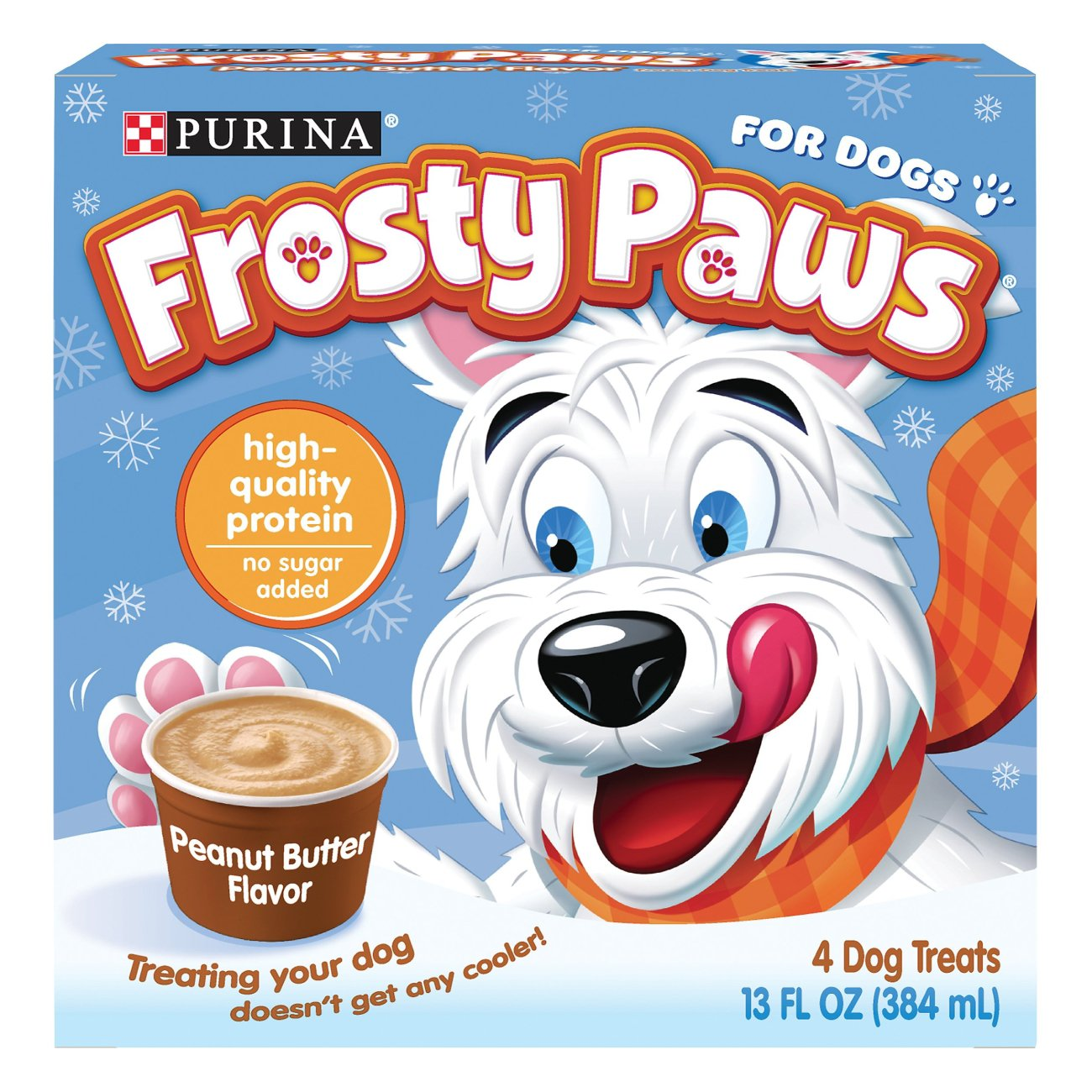 Purina Frosty Paws Peanut Butter Flavor Frozen Dog Treats Shop Dogs At H E B