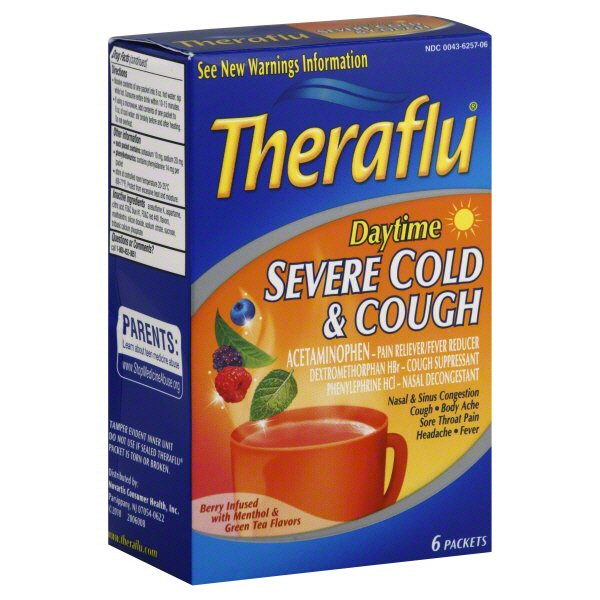 Theraflu Theraflu Severe Cold Non Drowsy Pe Shop Cold Medicine At Heb