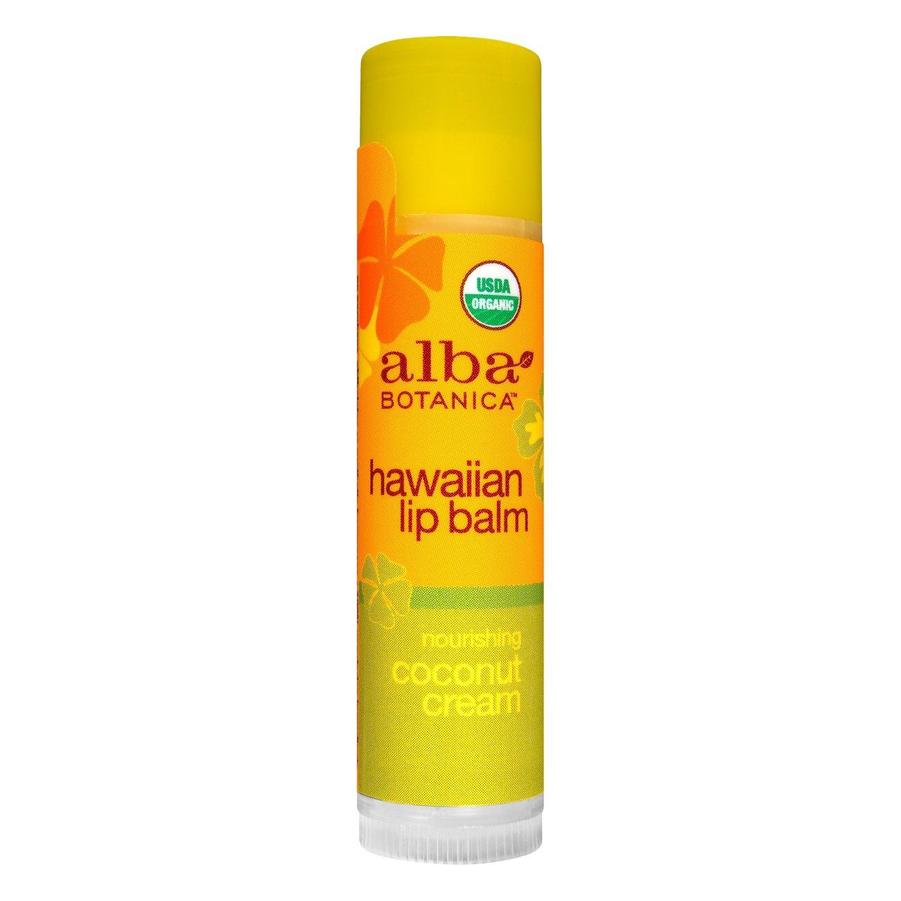 Image result for Alba Botanica Coconut Creme Lip Balm