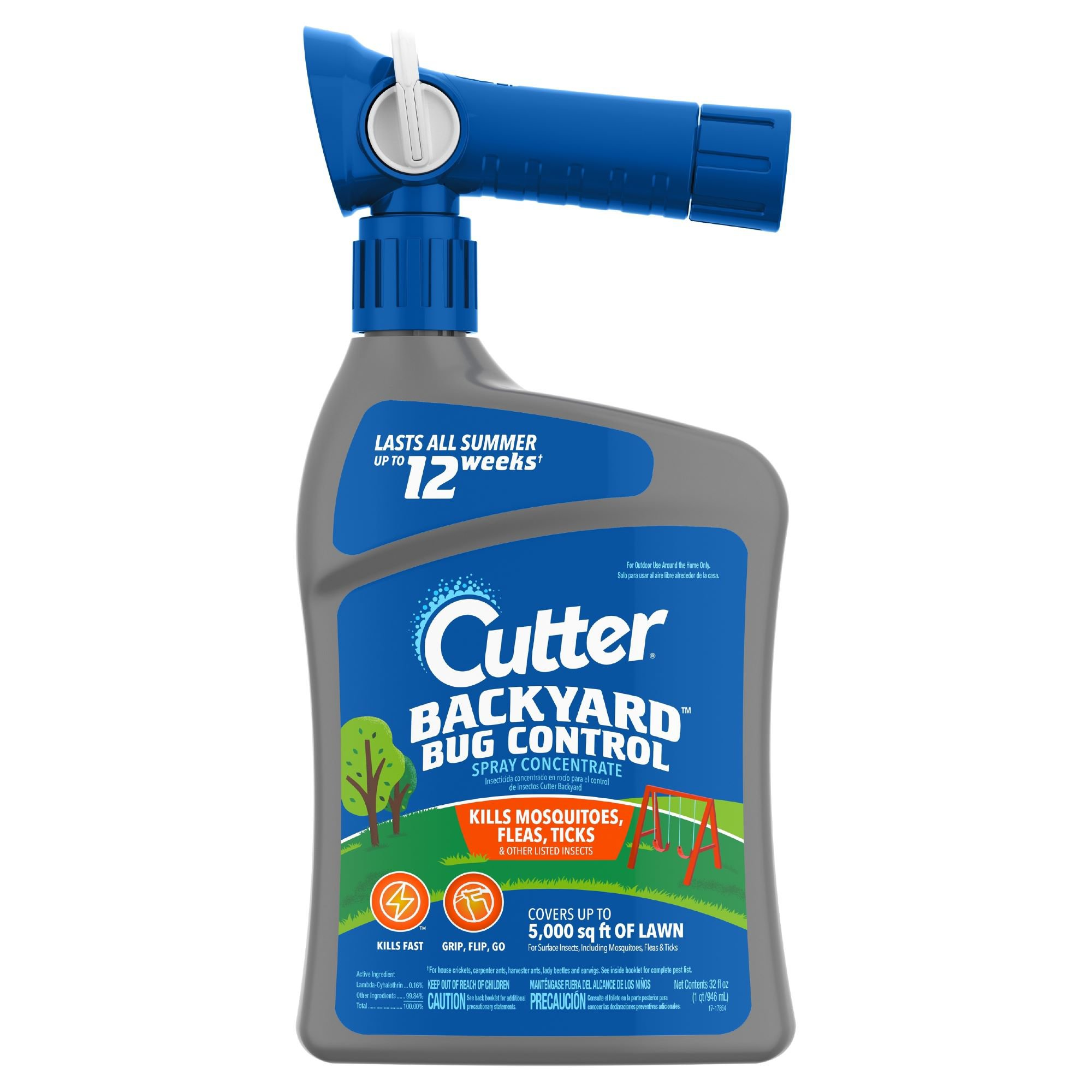 Cutter Backyard Bug Control Spray Concentrate with Quick ...