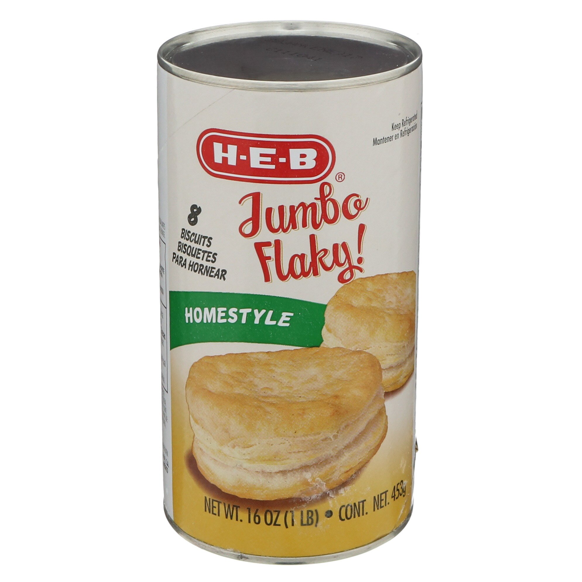 Hill Country Fare Jumbo Flaky Homestyle Biscuits ‑ Shop Biscuits