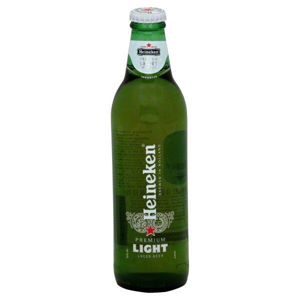 Heineken Light Lager Beer Bottle   Shop Import Beer At HEB