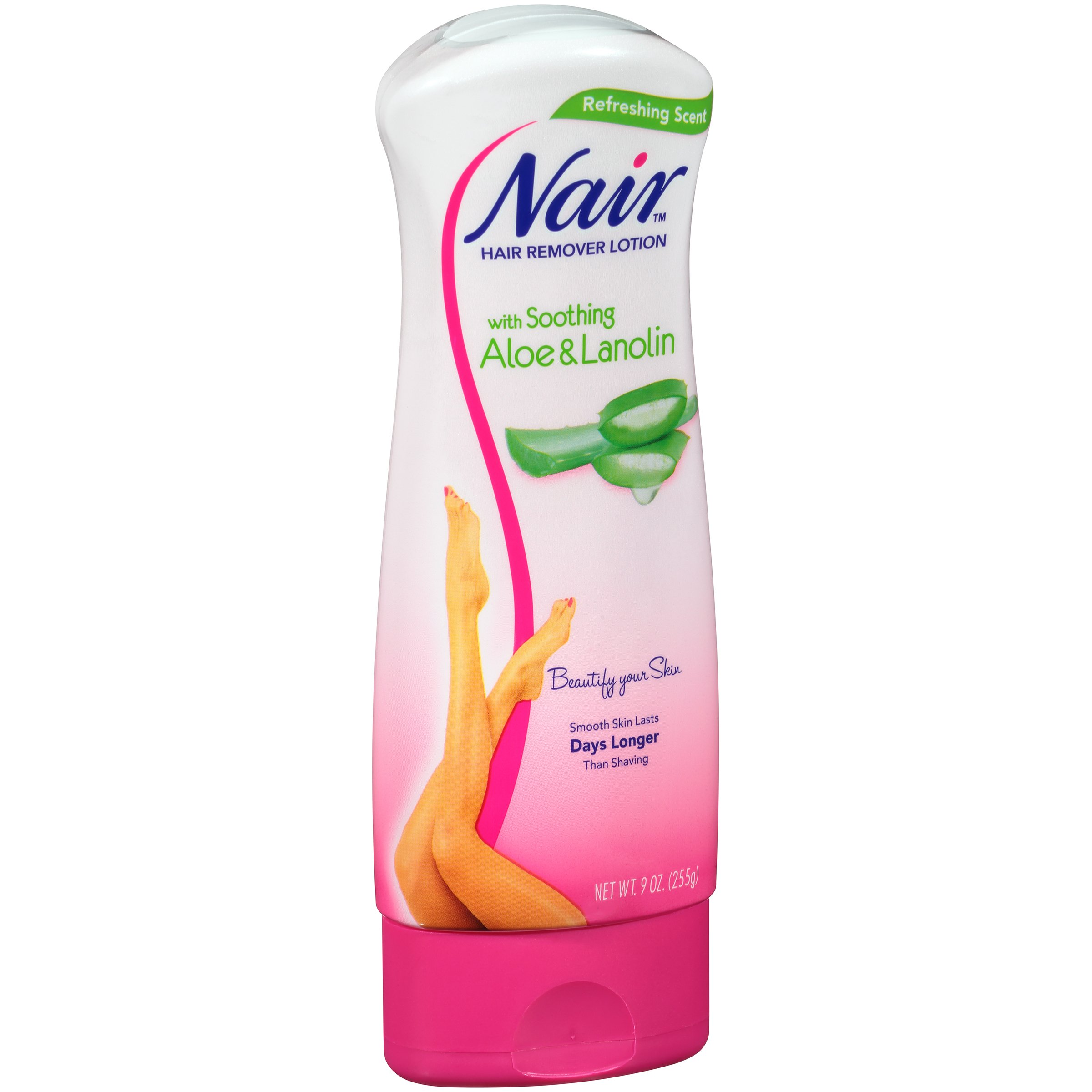 Nair Aloe And Lanolin Hair Remover Lotion For Legs And Body Shop
