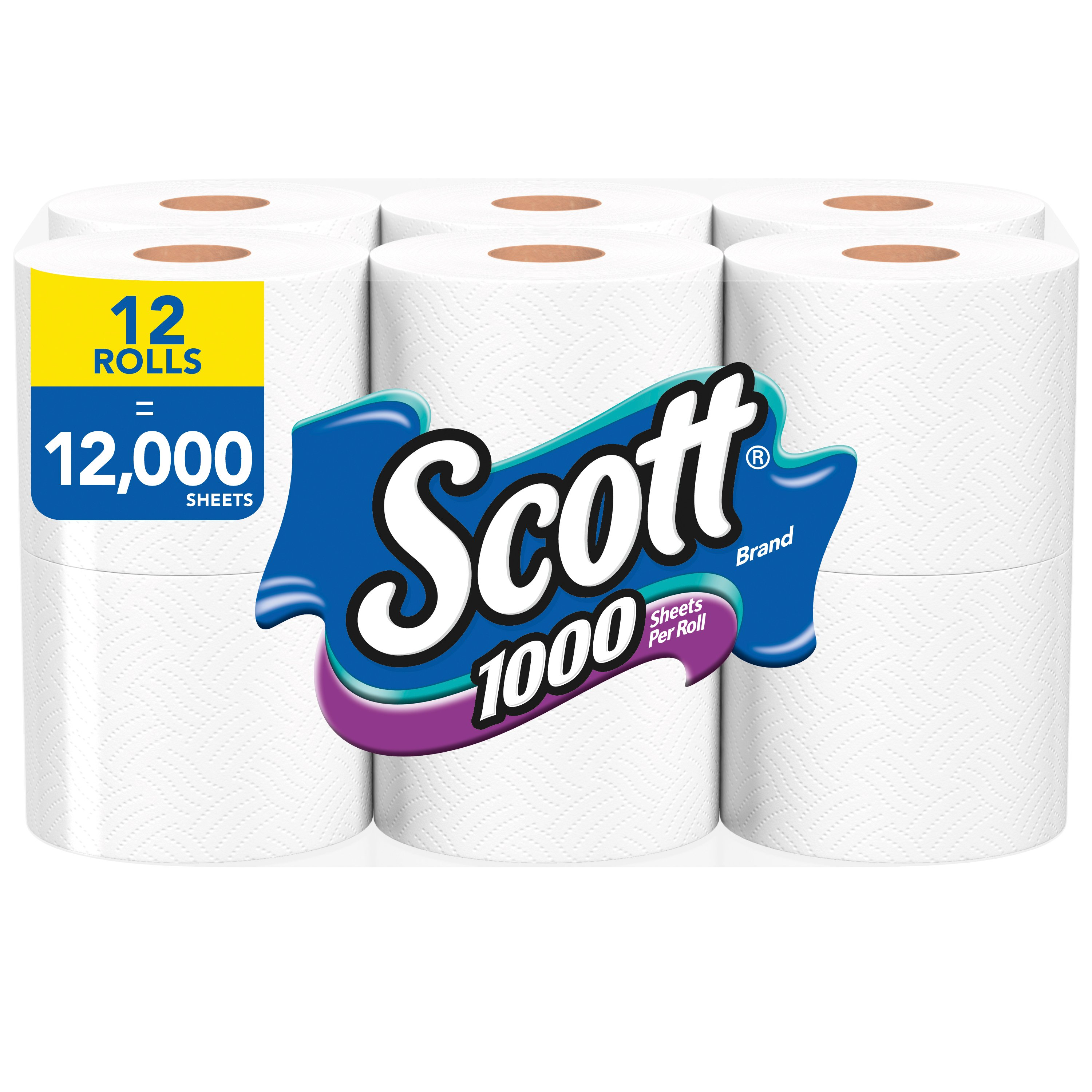 Scott 1000 Sheets Bath Tissue - Shop Bath Tissue at HEB