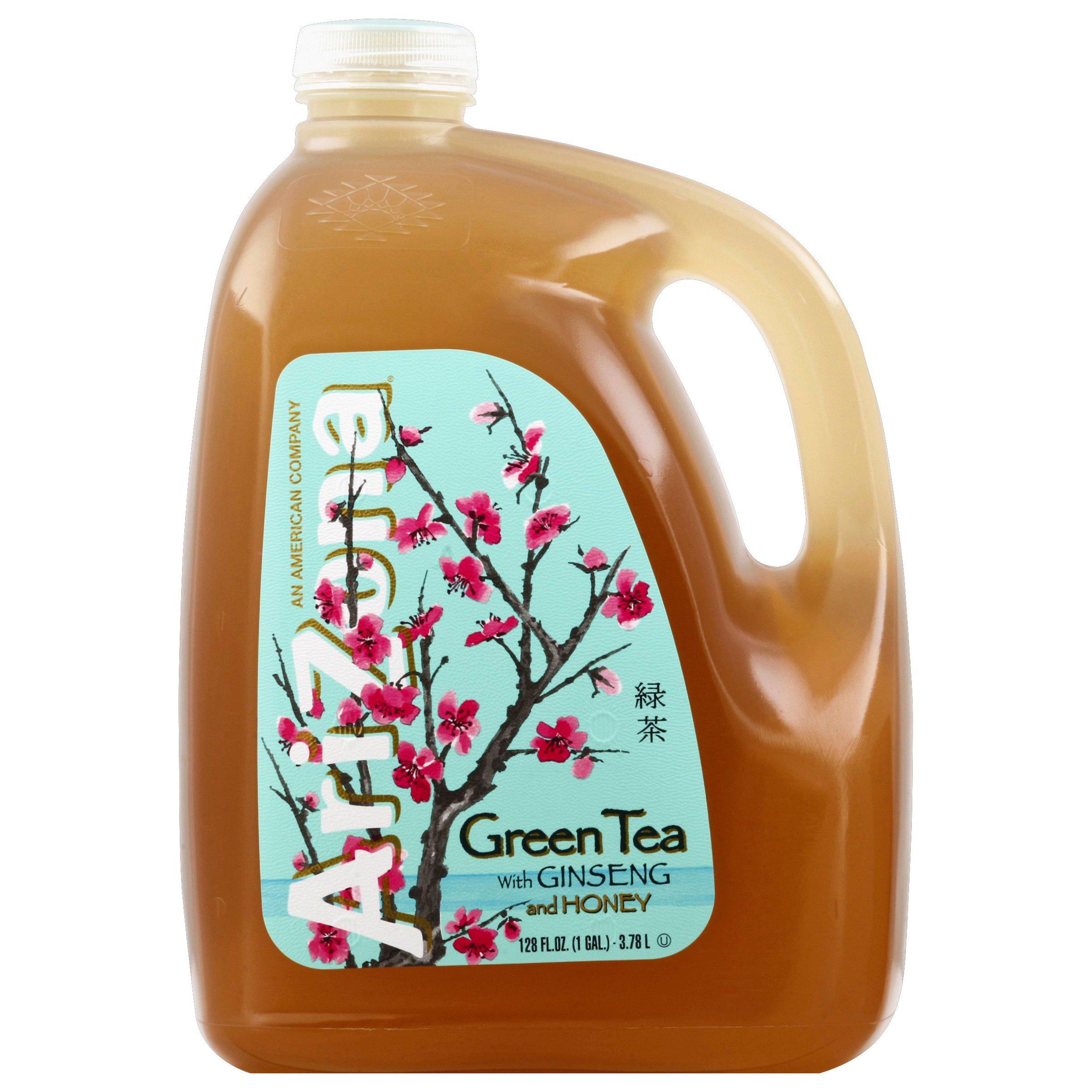 Arizona Green Tea With Ginseng And Honey Shop Tea At H E B