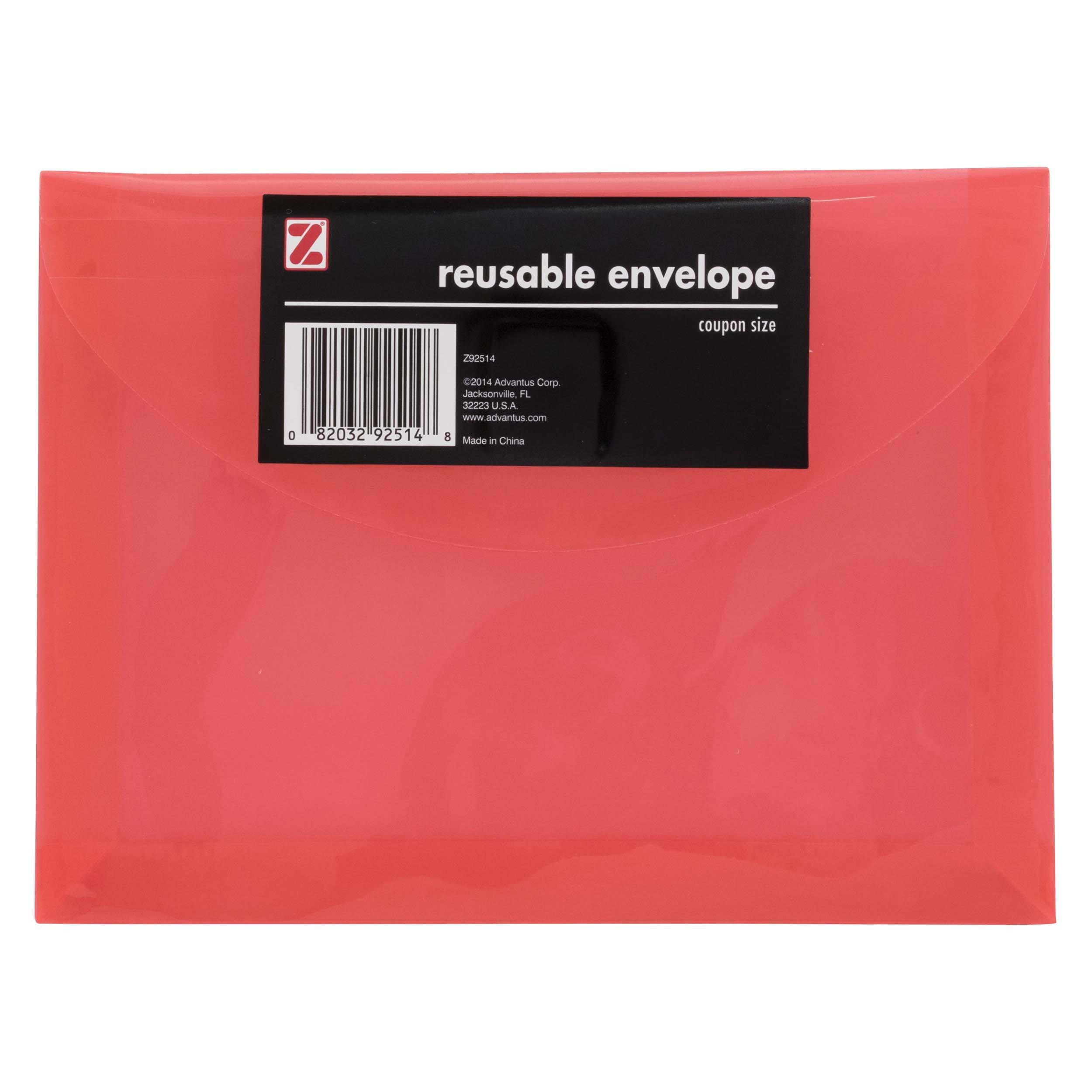 Z International Coupon Size Reusable Envelope - Shop Envelopes ...