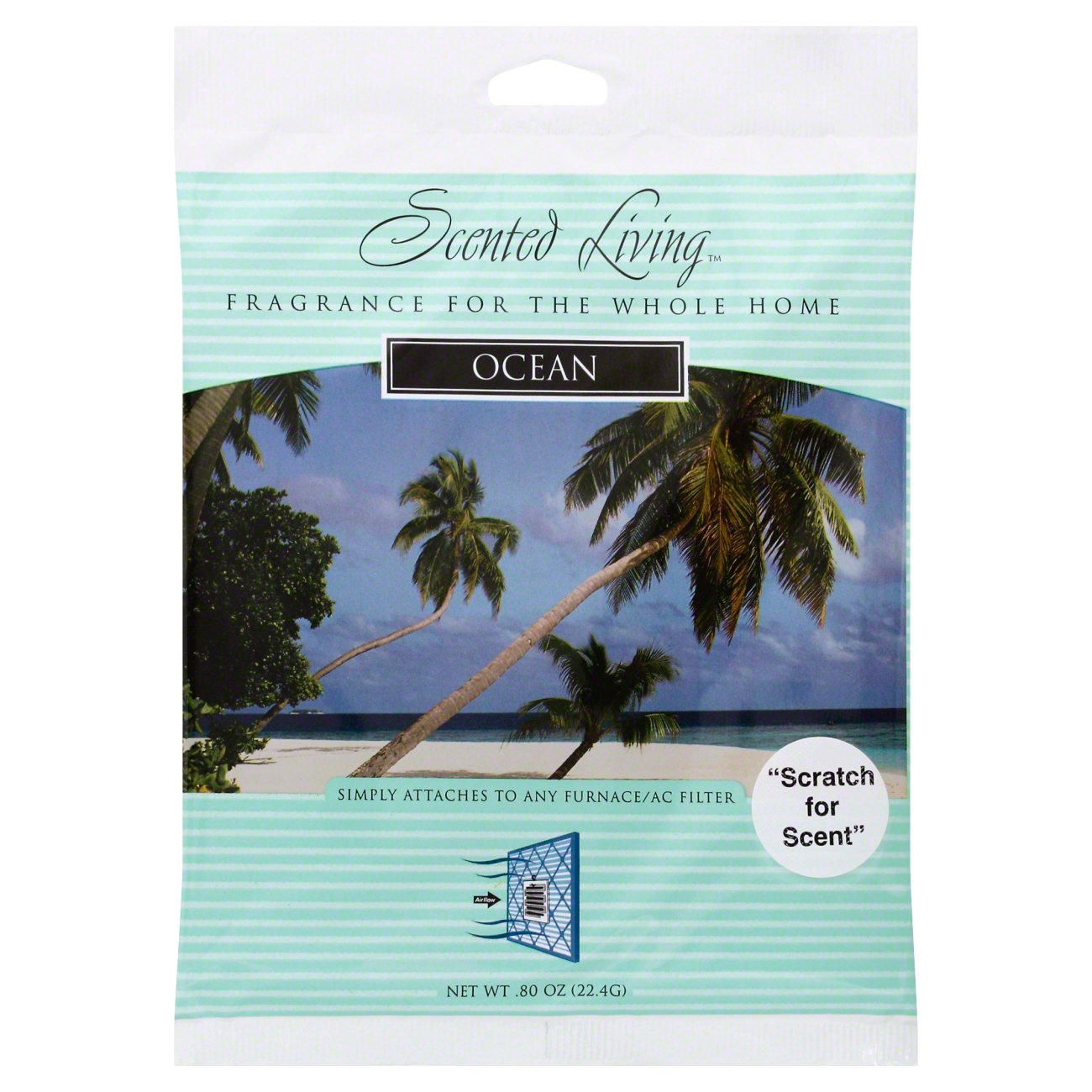 Scented Living Filter Fragrance Ocean Shop Air Fresheners At H E B