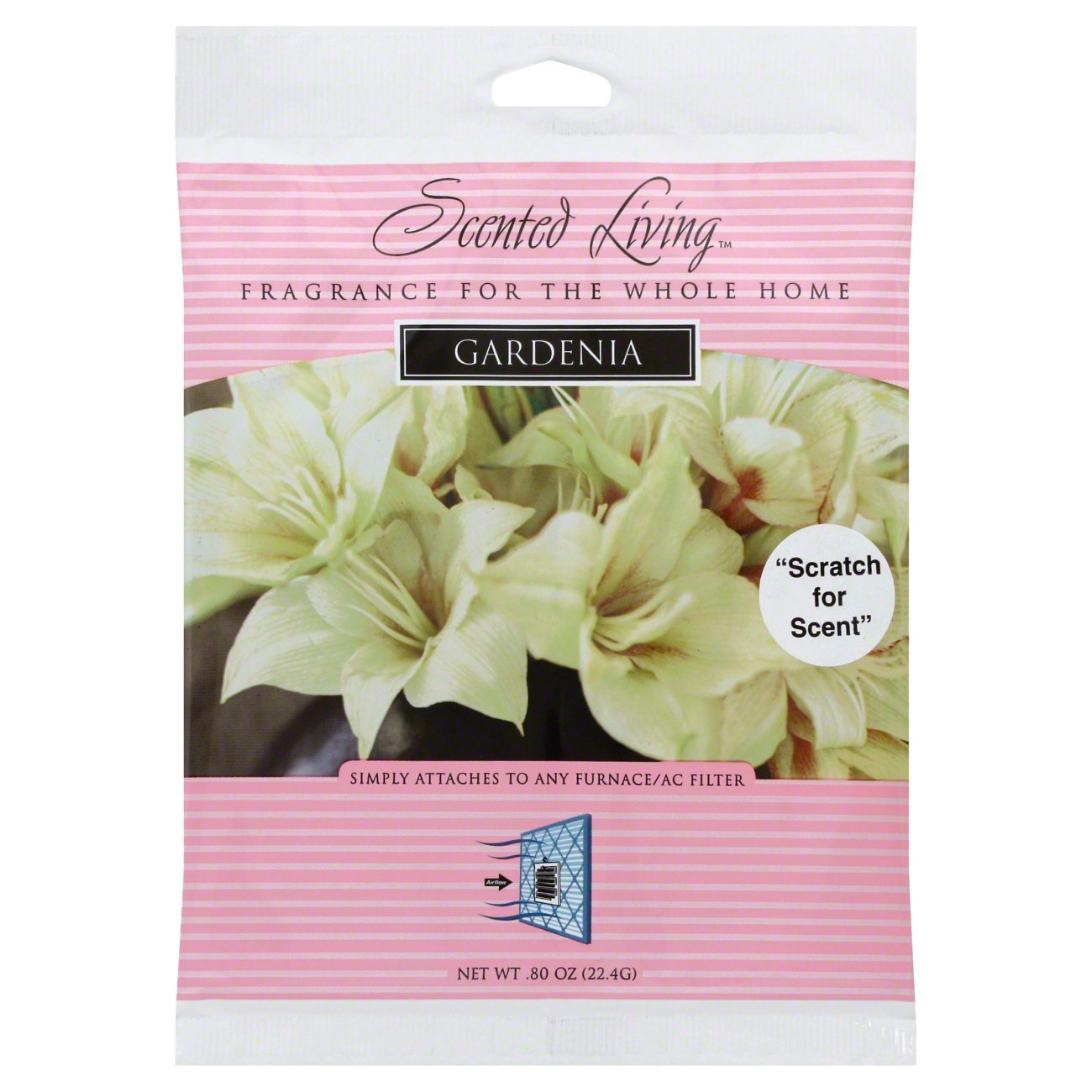 Beautiful Scented Living Gardenia Air Filter Fragrance