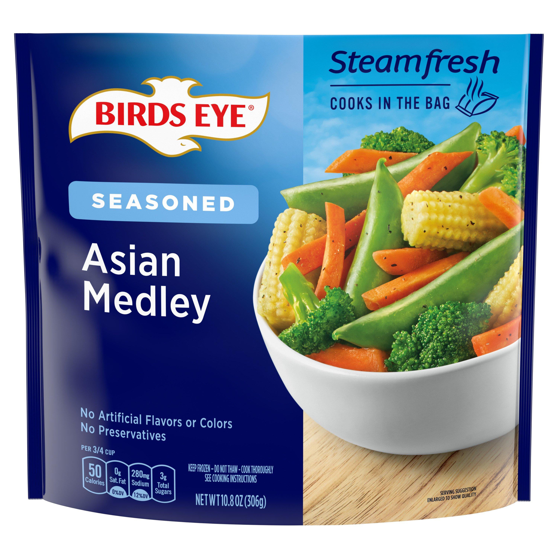 Birds Eye Steamfresh Specially Seasoned Asian Medley Prepared Vegetables At Heb