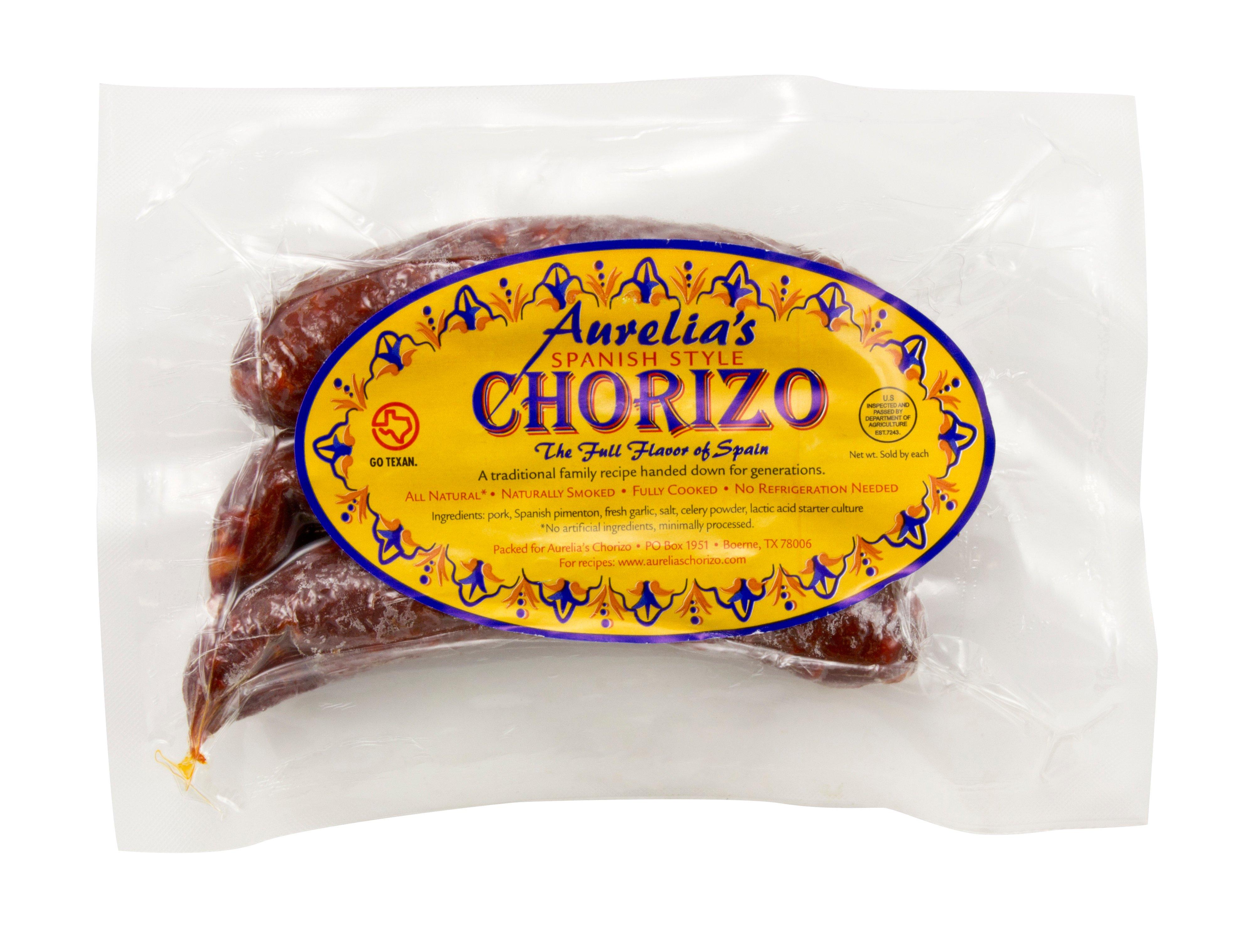 aurelia u0027s spanish style chorizo shop chorizo at heb