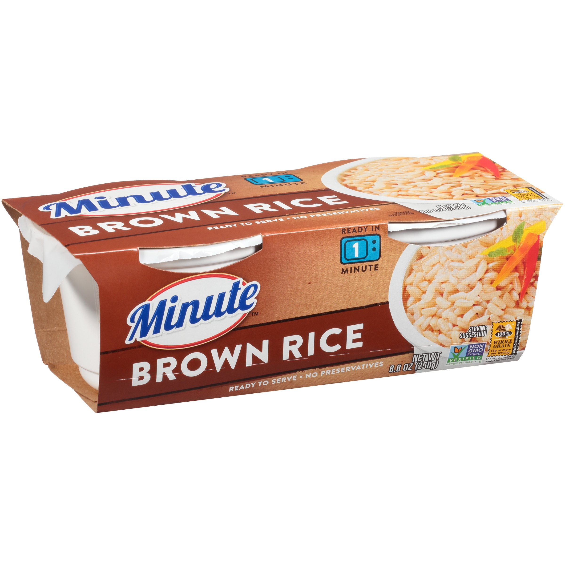 Minute Ready To Serve Brown Rice Cups