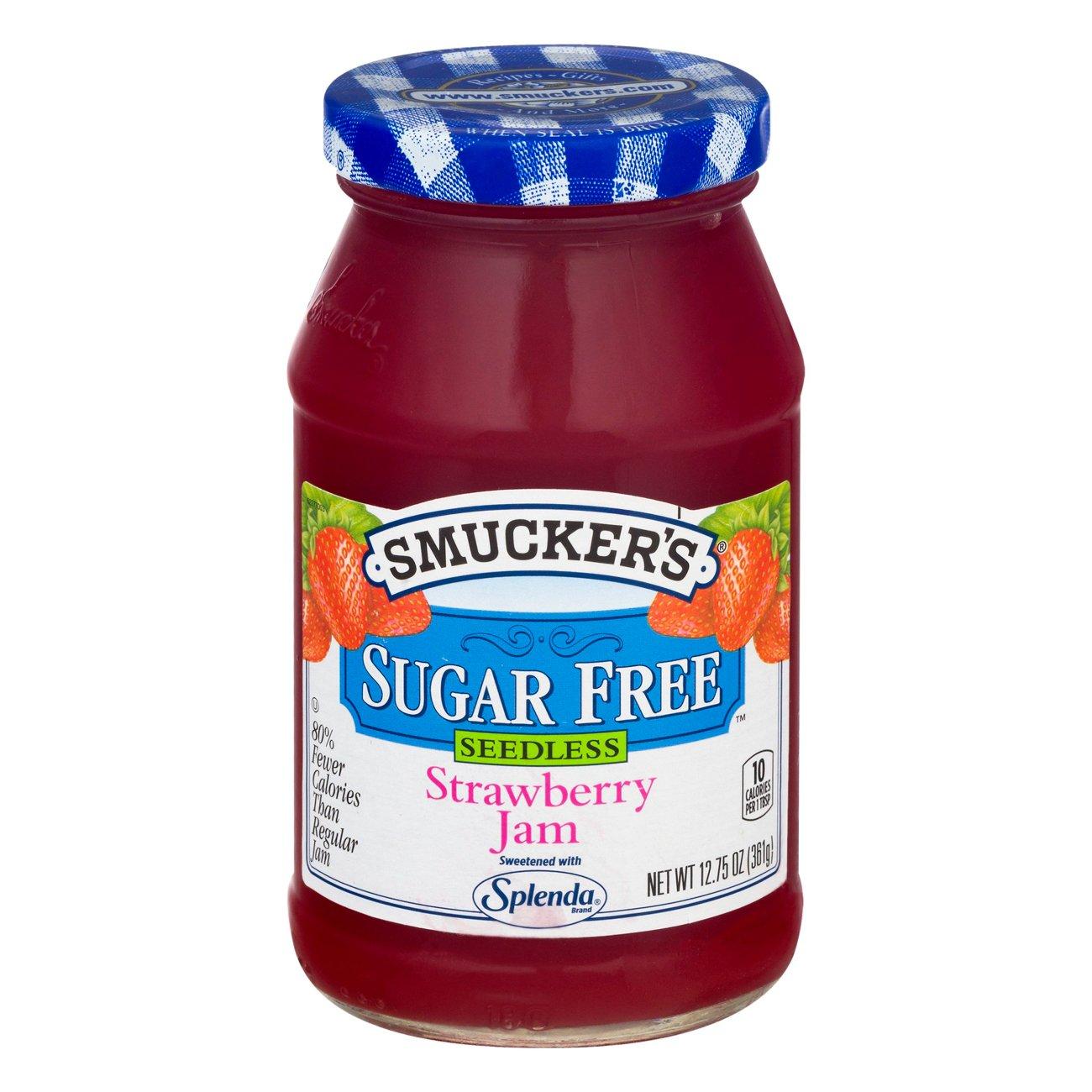 Sugar Free Seedless Strawberry Jam