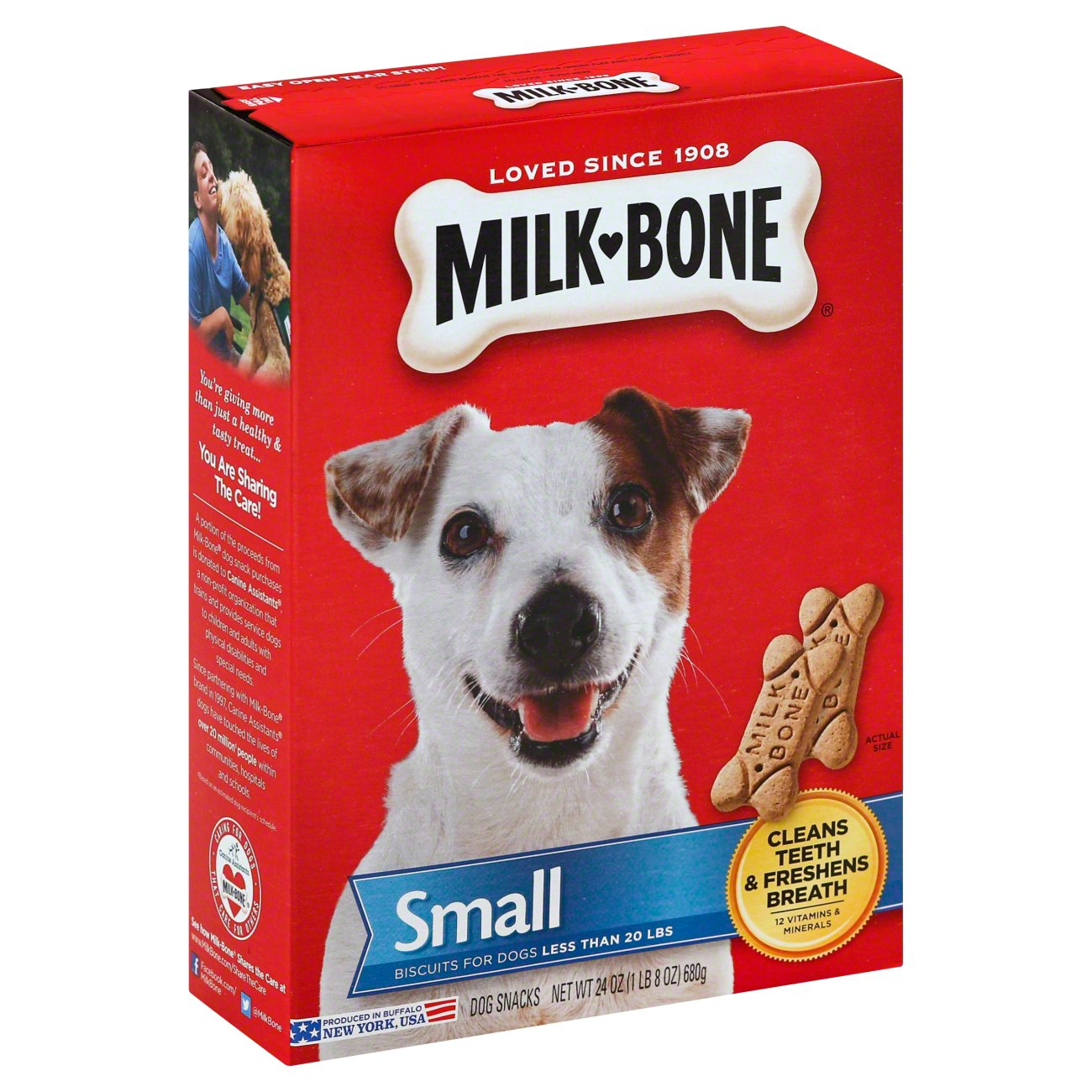 MilkBone Small Dog Snacks - Shop Biscuits at HEB