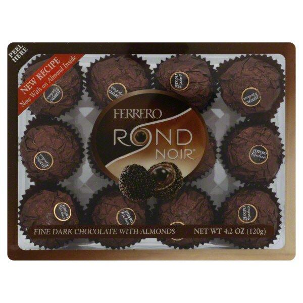 Ferrero Rocher Rondnoir Fine Dark Chocolate With Almonds Shop Ferrero Rocher Rondnoir Fine Dark Chocolate With Almonds Shop Ferrero Rocher Rondnoir Fine Dark Chocolate With Almonds Shop Ferrero Rocher