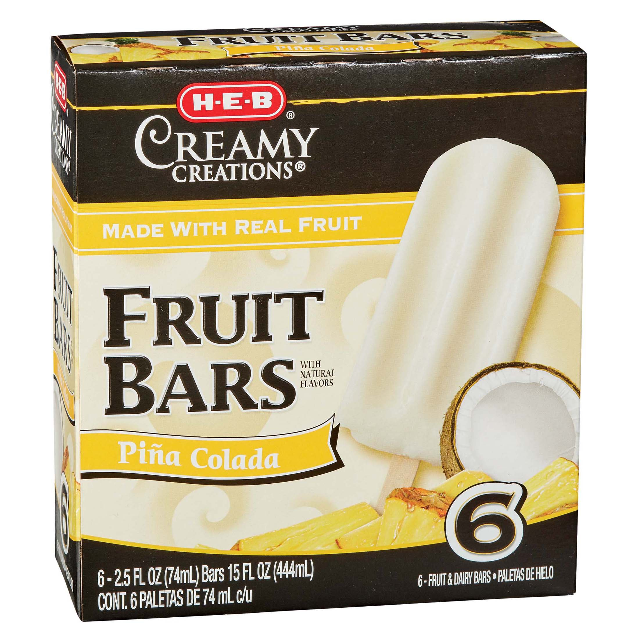 popsicles and fruit bars shop heb everyday low prices online