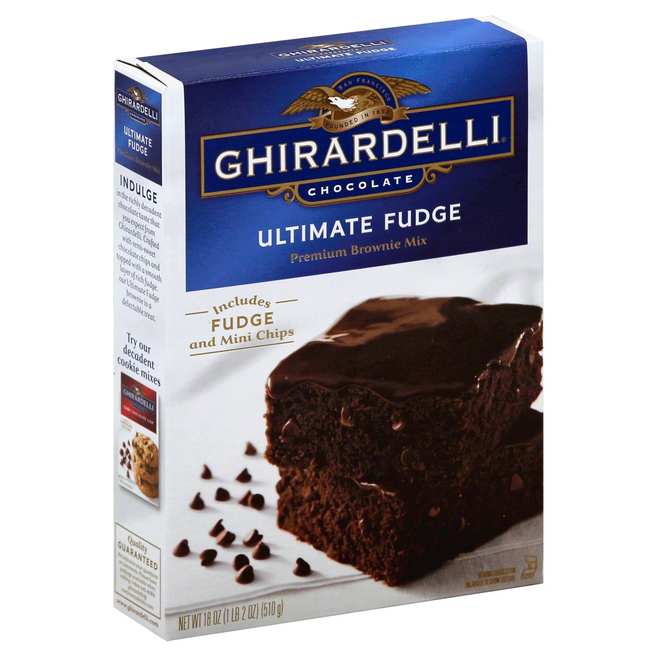 Ghirardelli Ultimate Fudge Brownie Mix Shop Baking Mixes At Heb