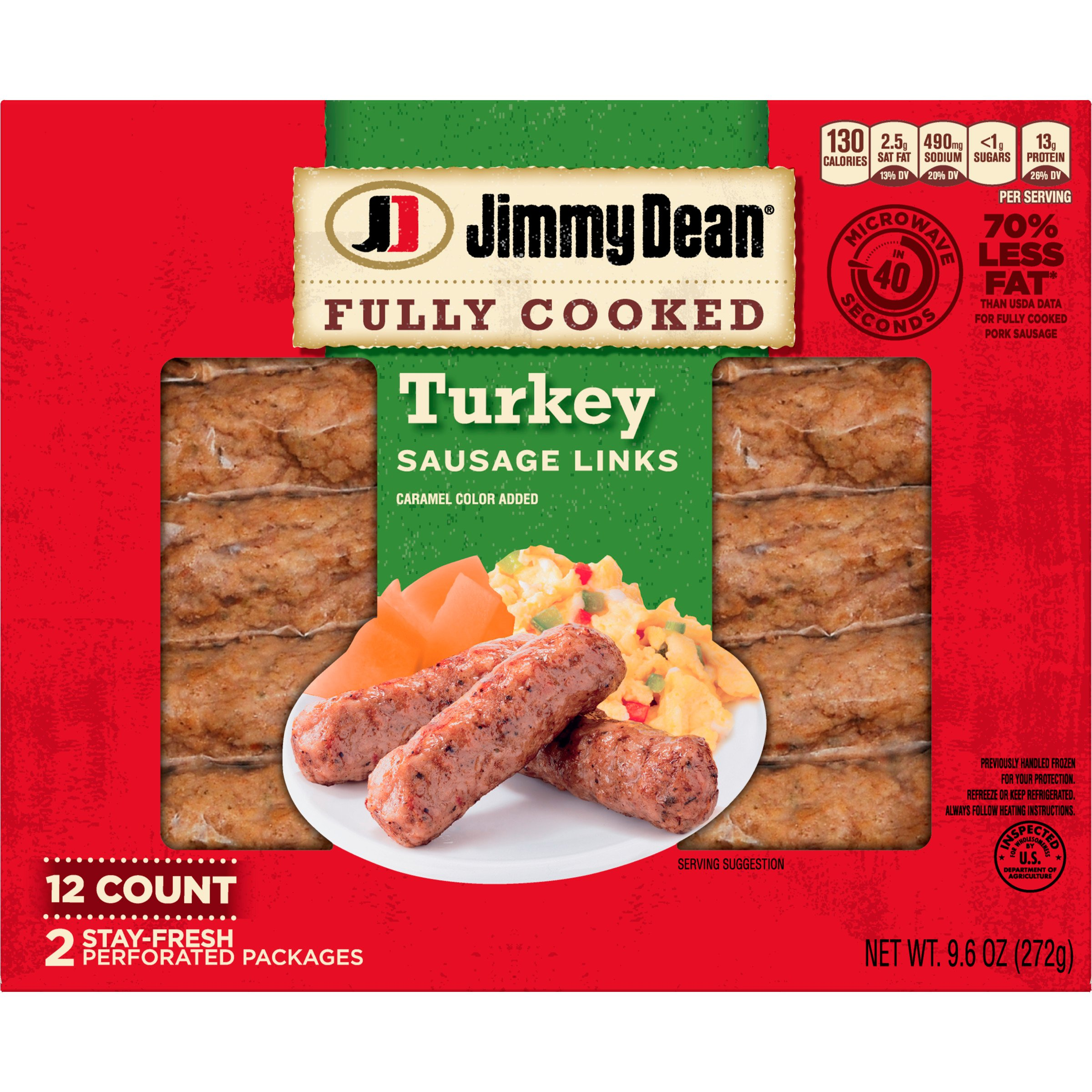 recipe: jones turkey sausage nutritional information [33]