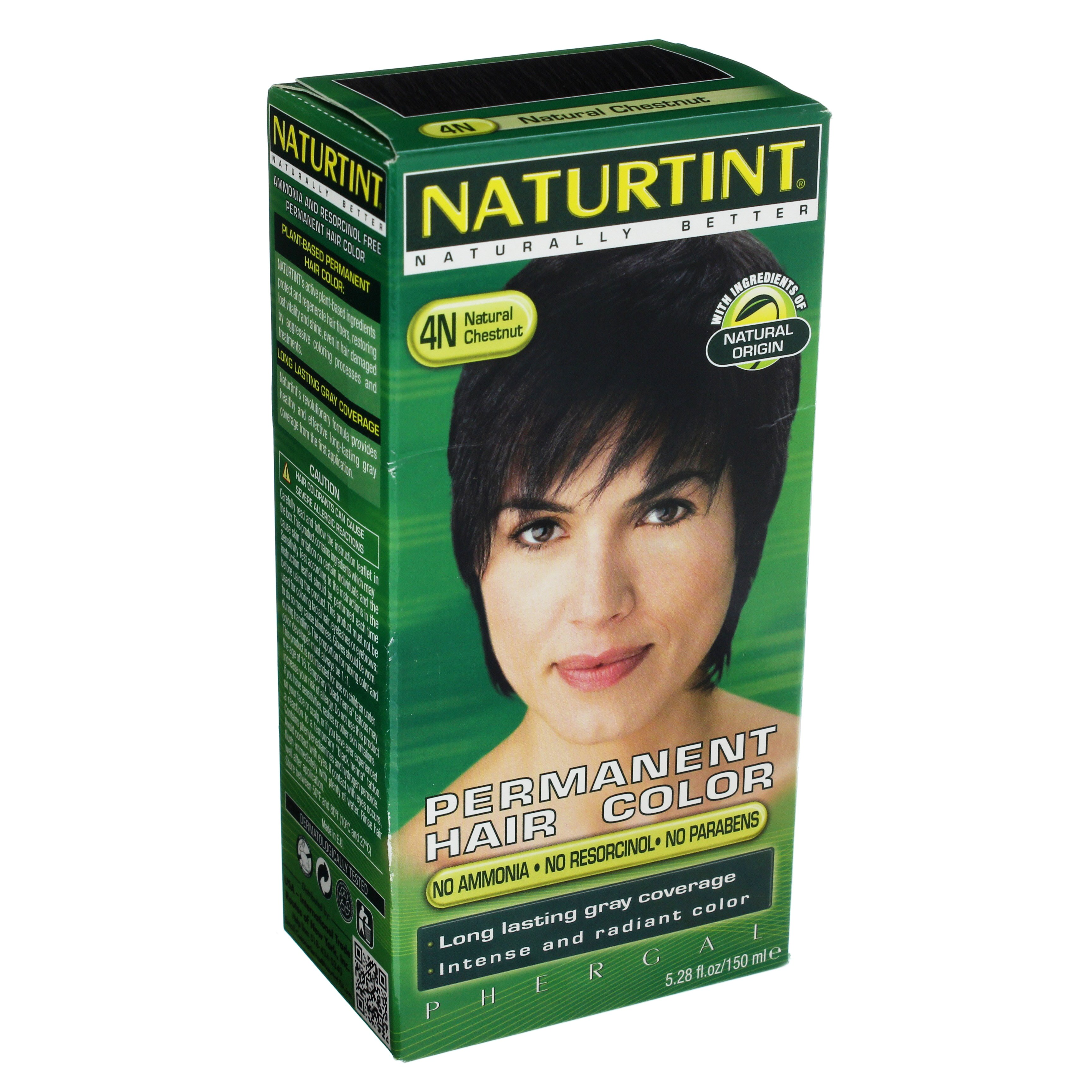 Naturtint Permanent Hair Color Natural Chestnut 4n Shop Hair At Heb
