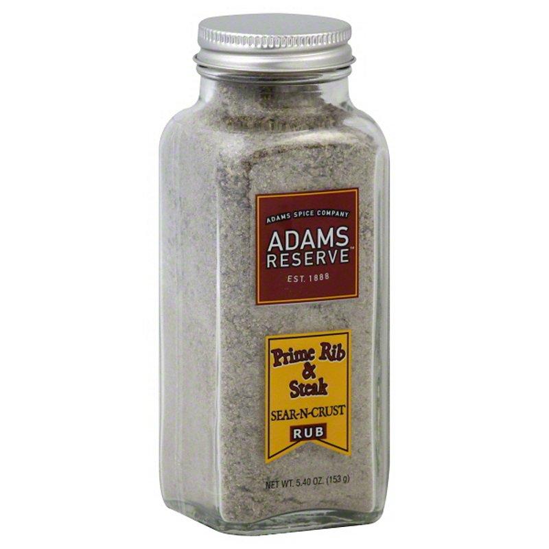 Adams Reserve Sear-N-Crust Prime Rib  Steak Rub - Shop Spice Mixes at H-E-B