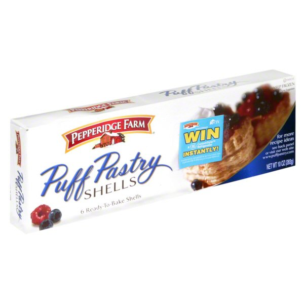 Pepperidge Farm Puff Pastry Shells Shop Desserts Pastries At H E B