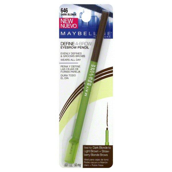 Maybelline Define-A-Brow Dark Blonde Eyebrow Pencil - Shop ...