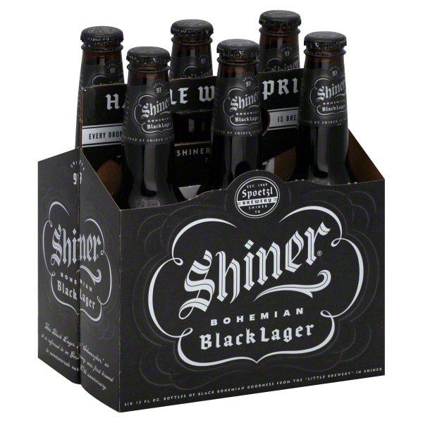 Image result for shiner bock black lager picture