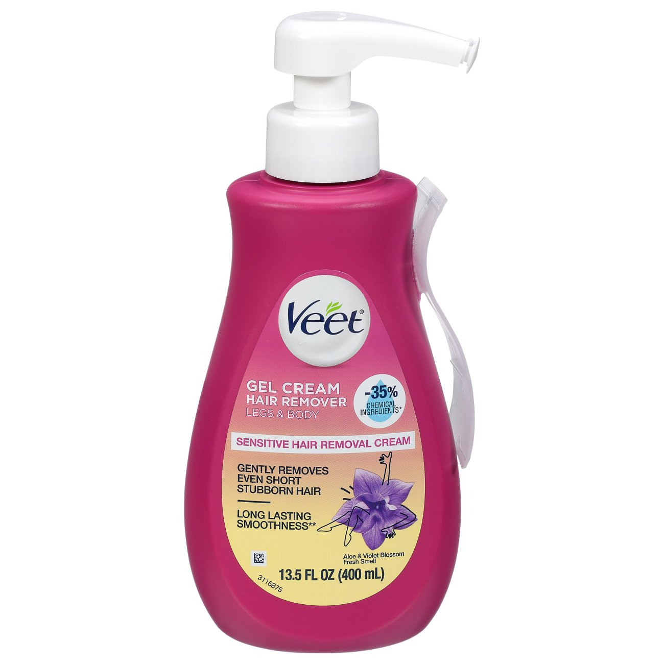Veet Sensitive Formula Fast Acting Gel Cream Hair Remover With