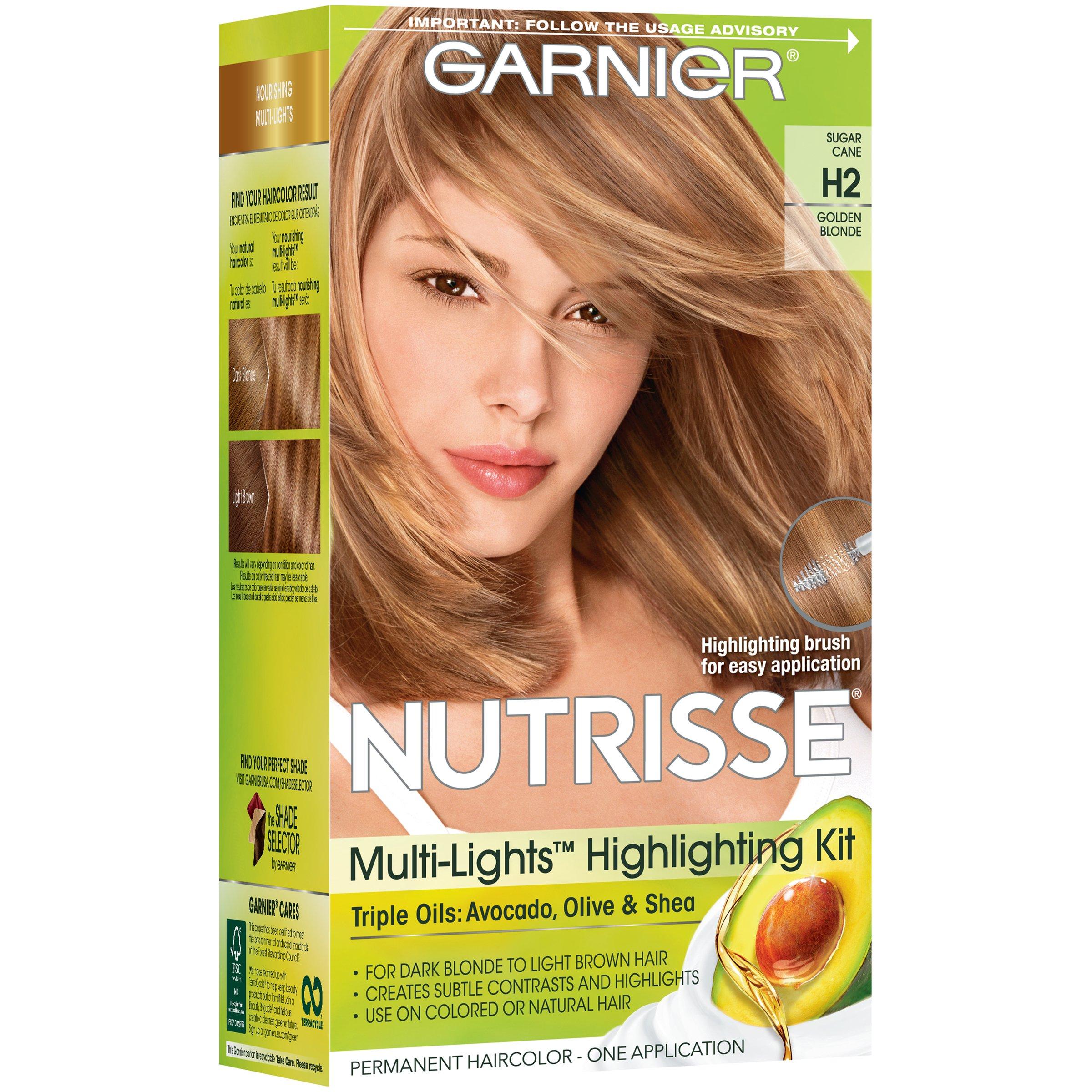 Garnier Nutrisse Nourishing Color Creme Highlighting Golden Blonde