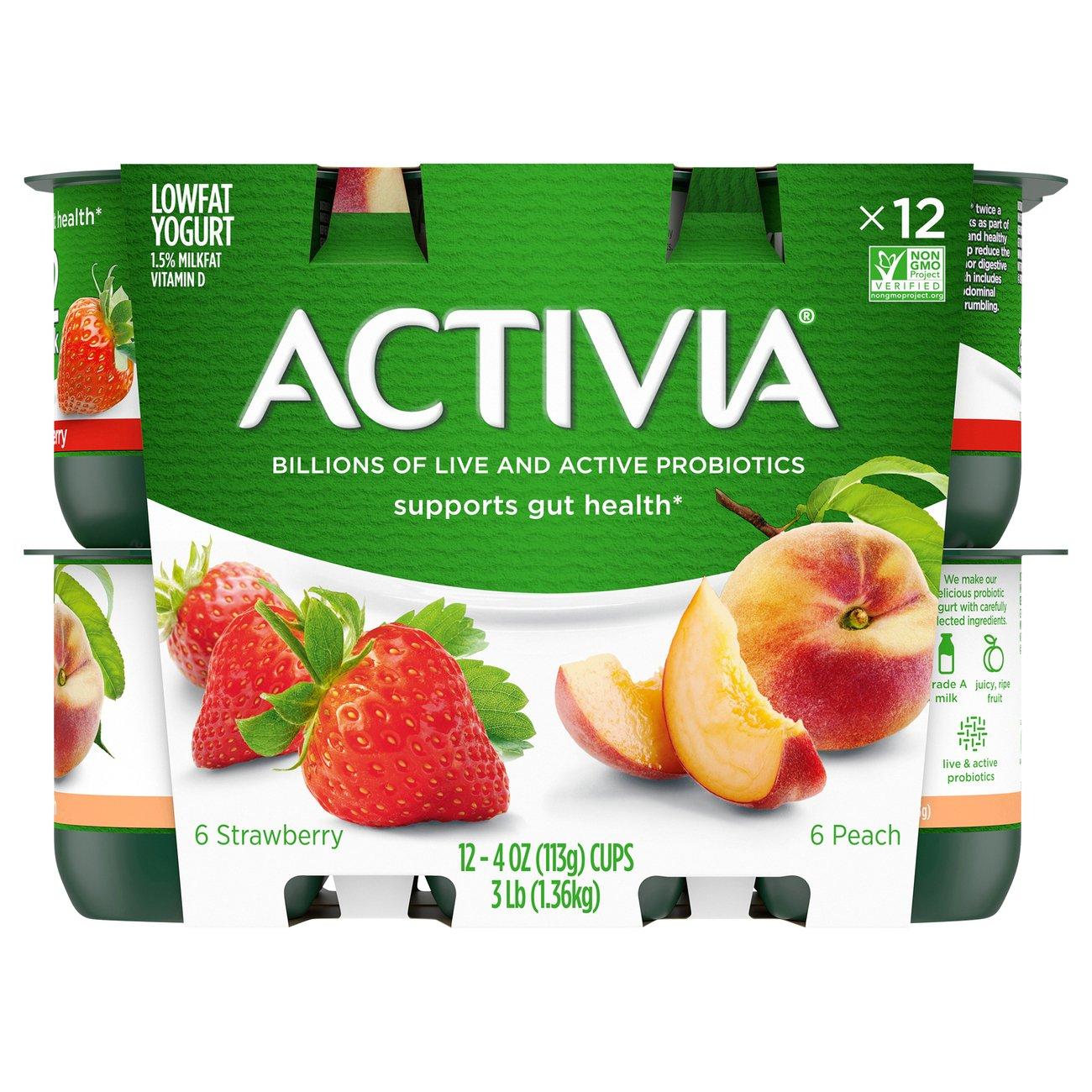 Dannon Activia Low-Fat Peach