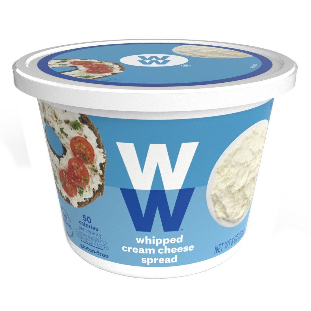 Reduced Fat Whipped Cream Cheese Spread