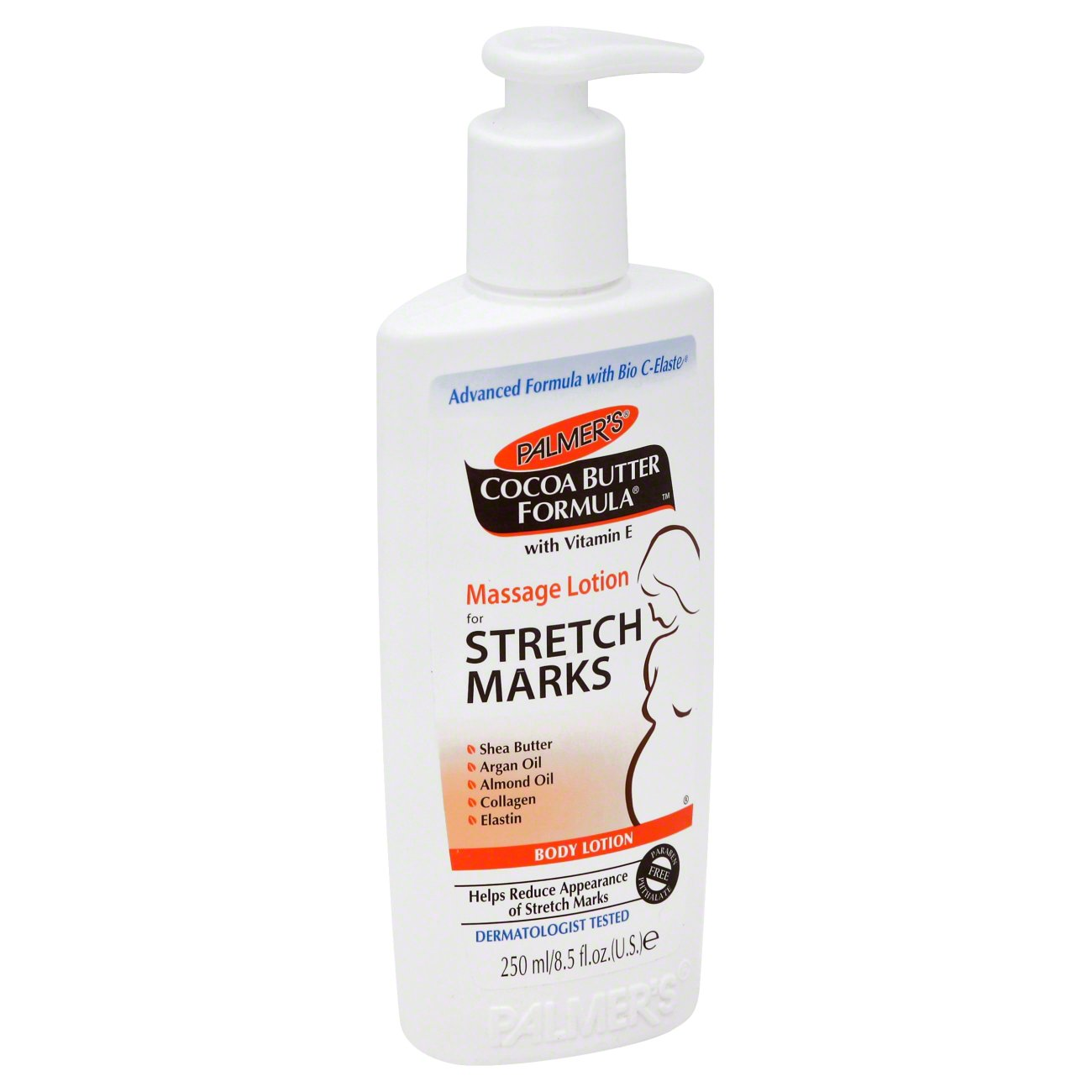 Palmer S Cocoa Butter Formula Massage Lotion For Stretch Marks Shop Moisturizers At H E B