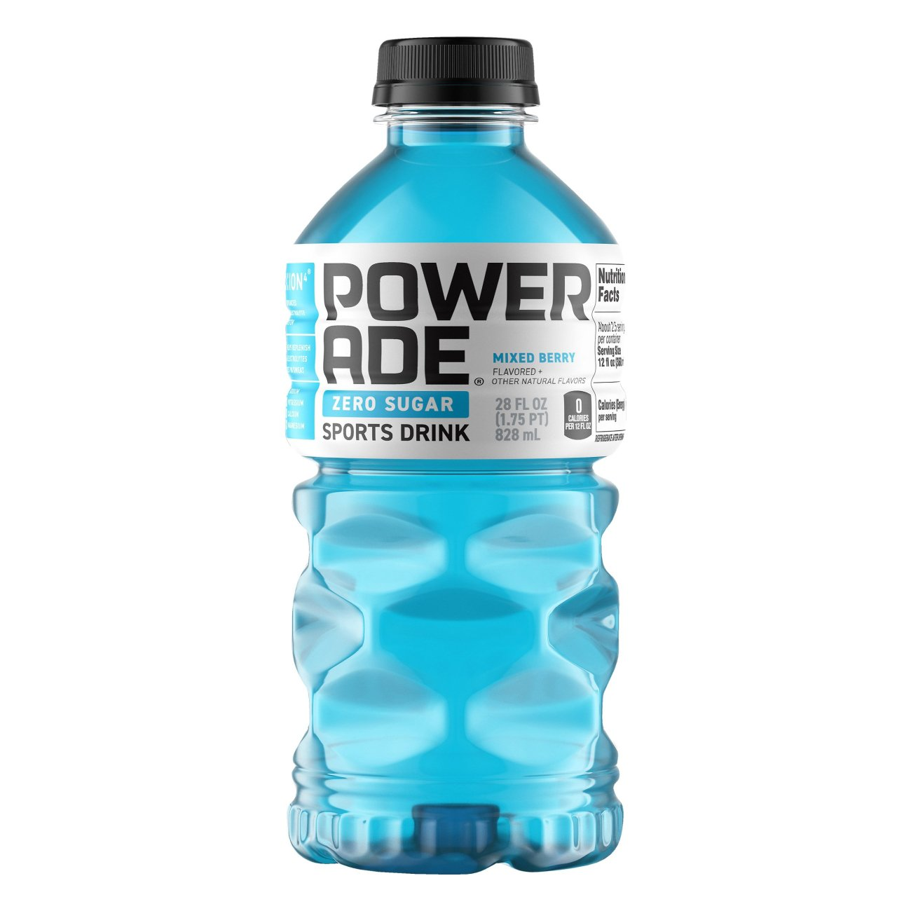 Powerade Zero Mixed Berry Sports Drink Shop Sports Energy Drinks At H E B
