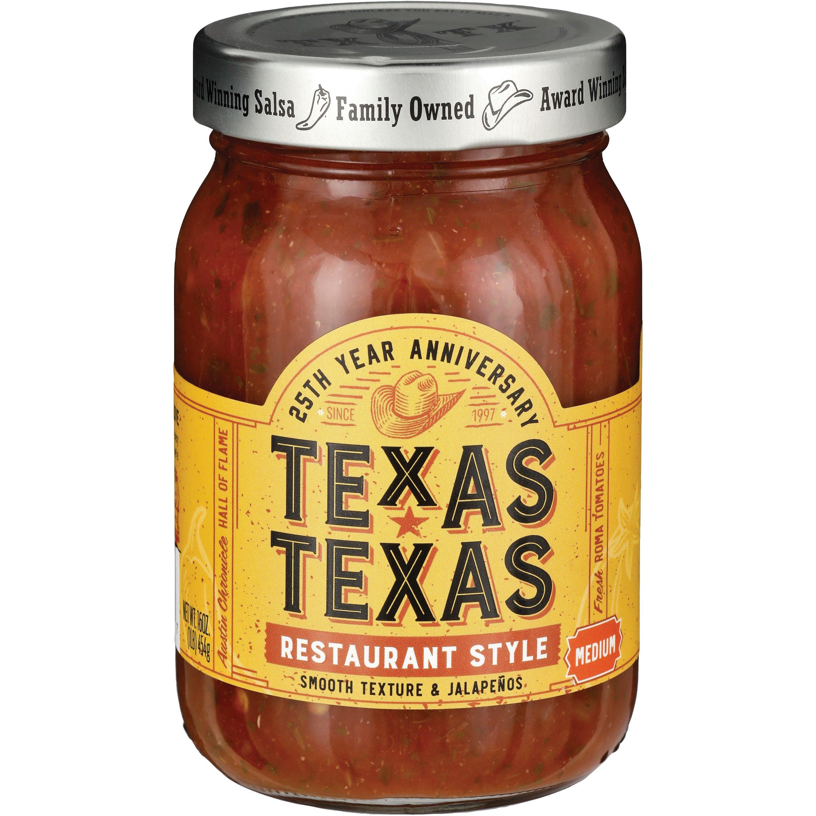 Texas Texas Medium Restaurant Style Salsa Shop Salsa Dip At H E B