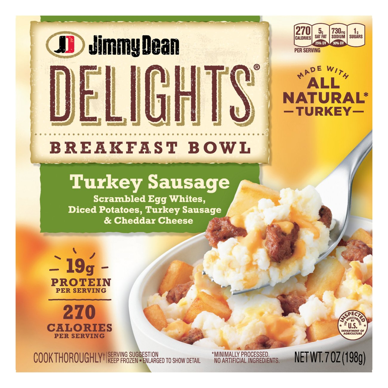 Turkey Sausage Breakfast Bowl