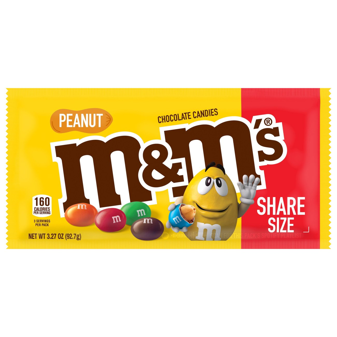 M M S Peanut Milk Chocolate Candy Sharing Size Shop Candy At H E B