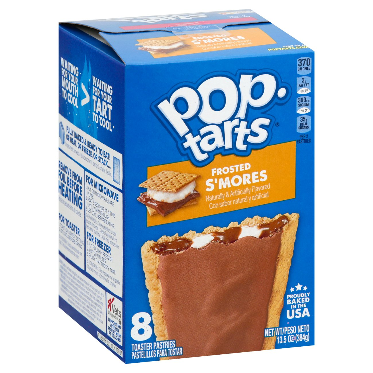 Pop Tarts Breakfast Toaster Pastries Frosted S Mores Shop Toaster Pastries At H E B