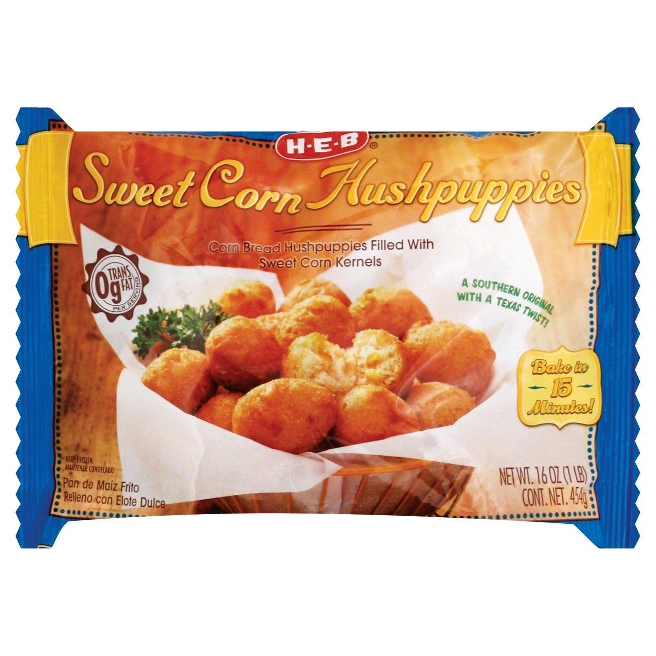 H E B Sweet Corn Hushpuppies Shop Entrees Sides At H E B