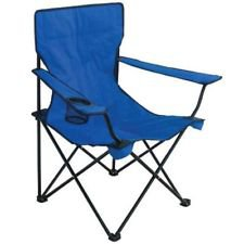 Outdoor Solutions Deluxe Blue Chair   Shop Furniture At HEB