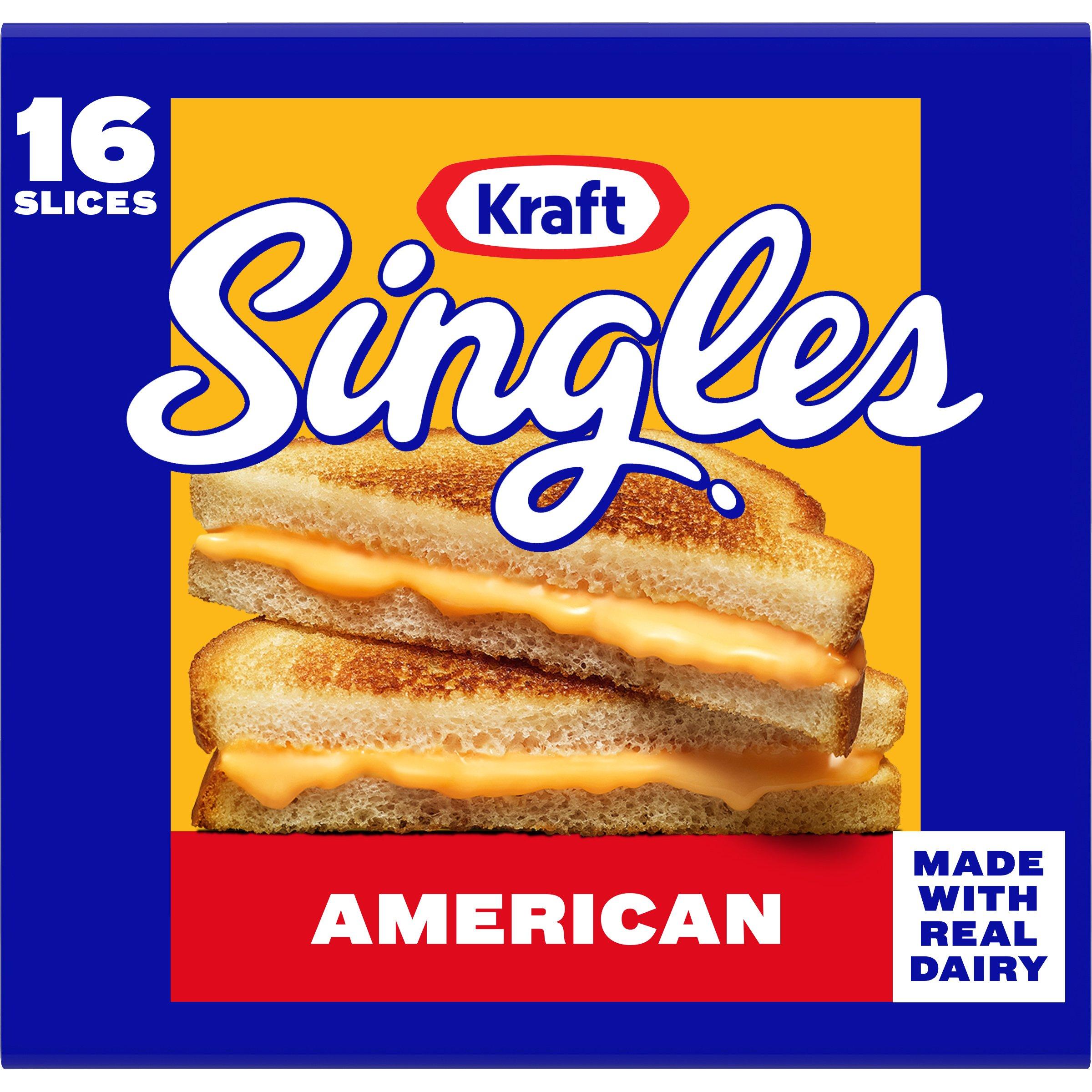 Kraft Singles American Cheese, Slices