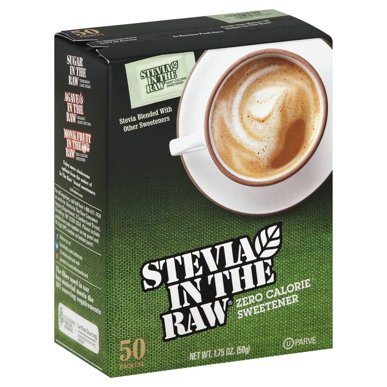 Stevia in the Raw Zero Calorie Sweetener Packets Shop Sugar and