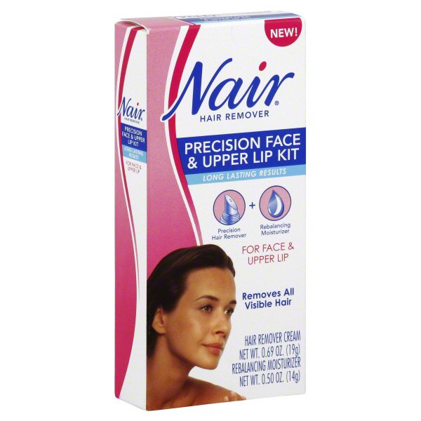 Nair Precision Face And Upper Lip Hair Remover Kit Shop