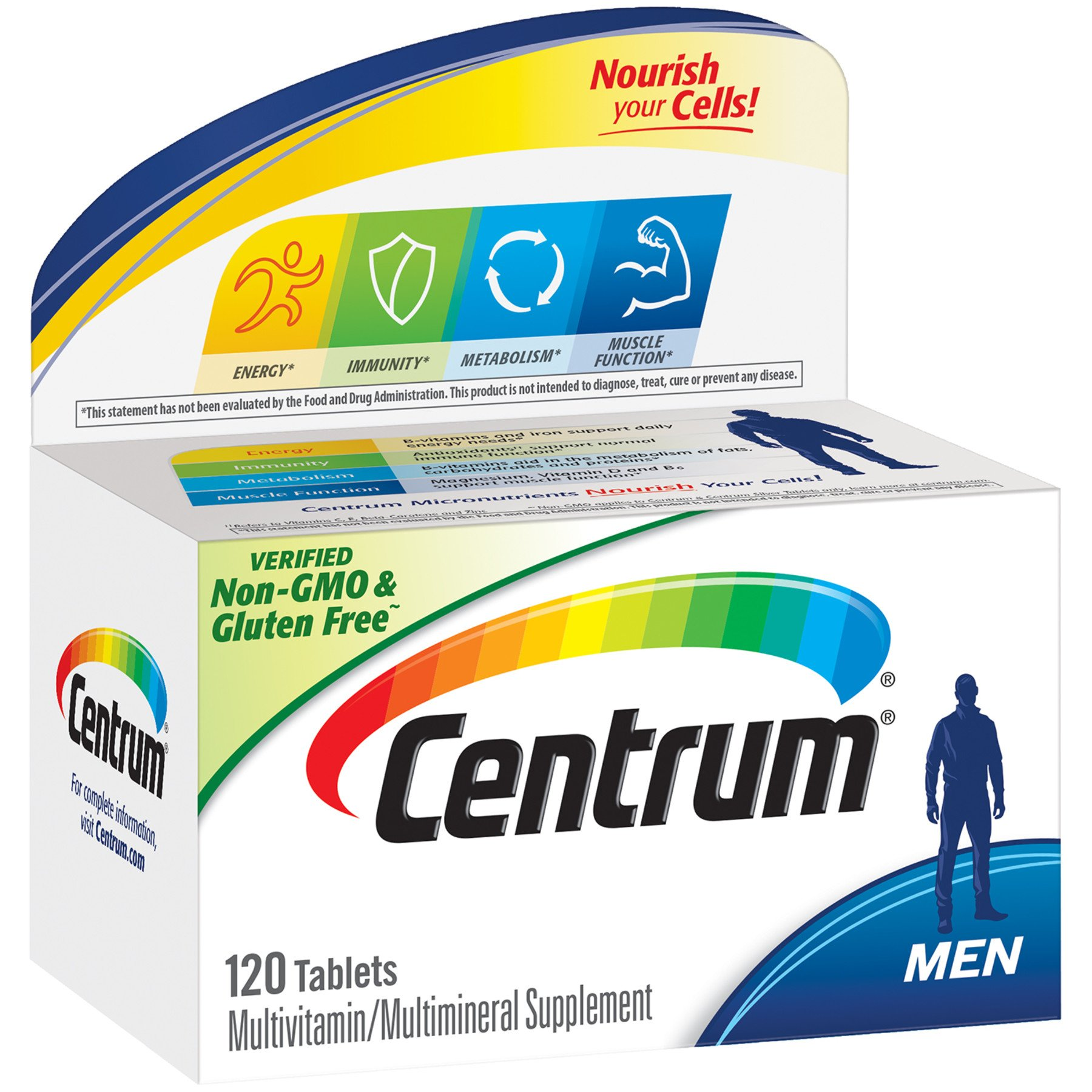 Centrum Multivitamin Multimineral Supplement Personalized For Men Tablets Shop Multivitamins At H E B